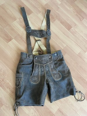Country Life Pantalone in pelle tradizionale color cammello