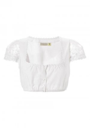 Country Line Traditional Blouse white cotton