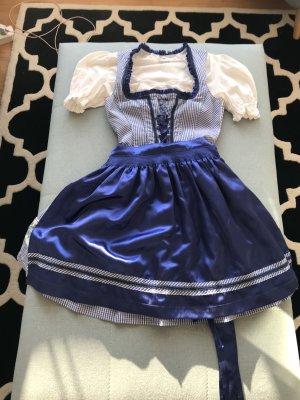 Country Line Vestido Dirndl azul-azul aciano