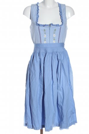 Country Line Dirndl blue-white check pattern classic style