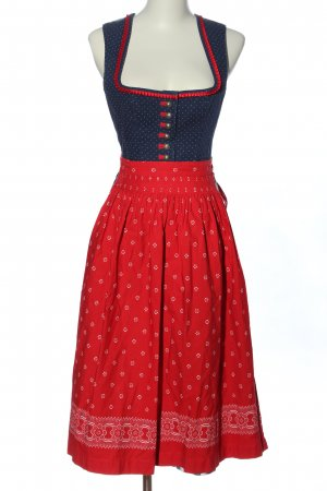 Country Line Dirndl Allover-Druck Casual-Look