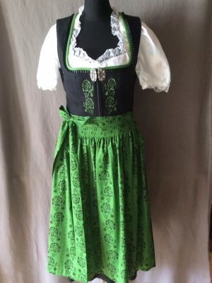 Country Line Dirndl black-green