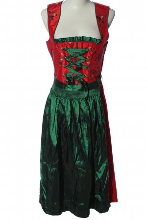 Country Line Dirndl red-green classic style