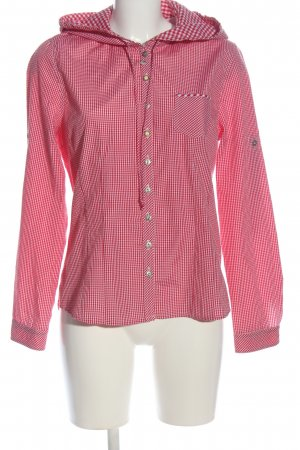 Country Line Houthakkershemd roze-wit geruite print casual uitstraling