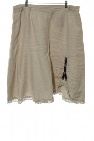 Country Line Linen Skirt multicolored casual look