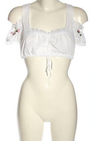 Country Line Blusa tradizionale motivo floreale stile casual
