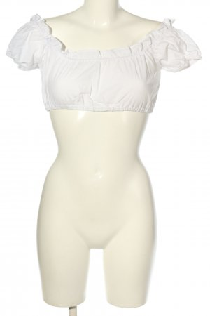 Country Line Traditional Blouse white elegant