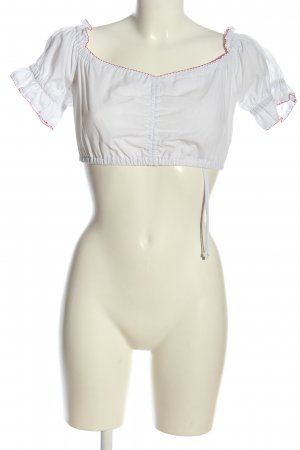 Country Line Trachtenhemd weiß-rot Elegant