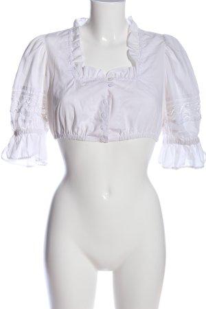 Country Line Chemise bavaroise blanc style classique