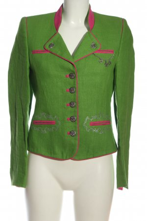 Country Line Traditional Jacket green-pink casual look