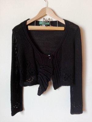 Country Line Gilet bavarois noir coton