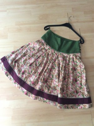 Country Line Traditional Skirt multicolored