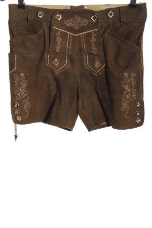 Country Maddox Pantalon bavarois brun style décontracté