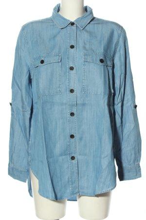 COUNTRY ROAD Camicia denim blu stile professionale