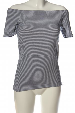 COUNTRY ROAD Stripe Shirt black-white allover print casual look
