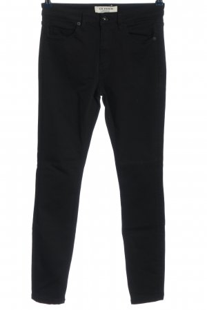 COUNTRY ROAD Drainpipe Trousers black casual look