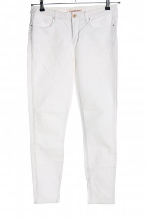 COUNTRY ROAD Slim Jeans white casual look