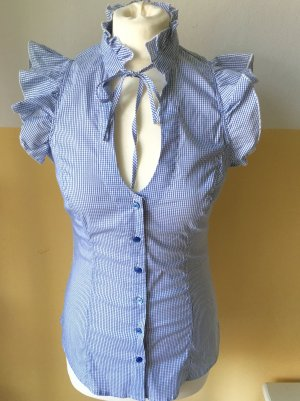Country-Style Rüschenbluse, Gr. M