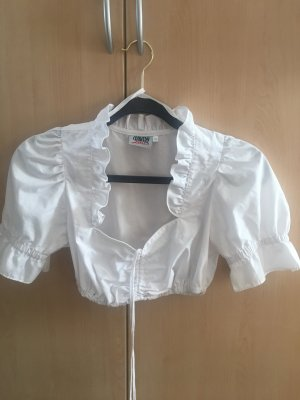 Country Line Traditional Blouse white-natural white