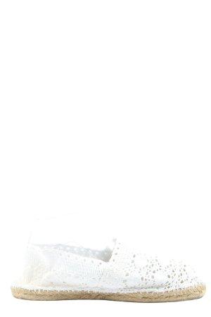 cousu main Alpargatas blanco look casual