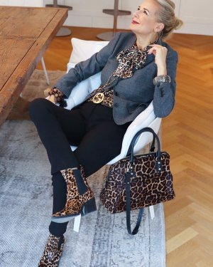 Dolce & Gabbana Korte blazer veelkleurig Wol