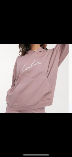 The Couture Club Hooded Sweater rose-gold-coloured
