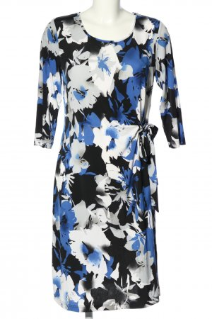 Couture Line Blouse Dress flower pattern casual look