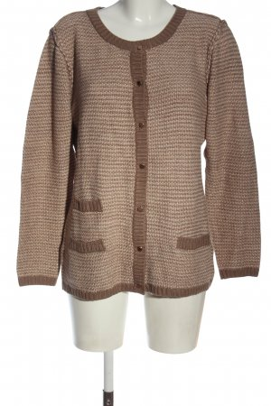 Couture Line Cardigan brown-nude casual look