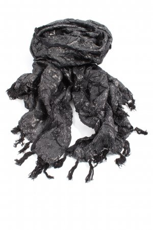 Couture Line Fringed Scarf light grey casual look