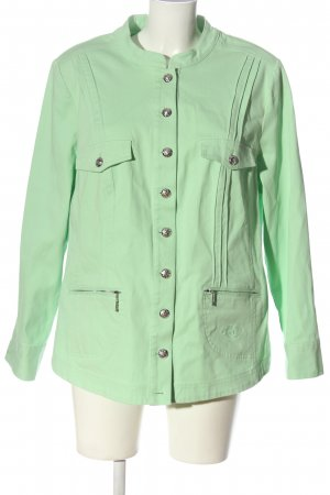 Couture Line Denim Jacket green casual look