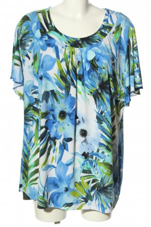 Couture Line Short Sleeved Blouse allover print casual look