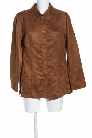 Couture Line Langarmhemd braun Casual-Look