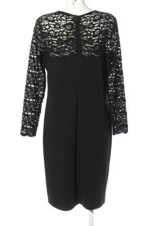 Couture Line Langarmkleid schwarz Elegant