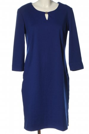 Couture Line Longsleeve Dress blue business style