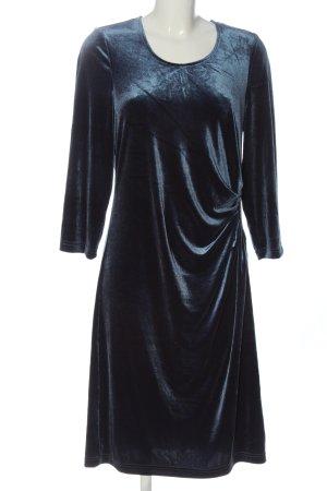 Couture Line Longsleeve Dress blue elegant