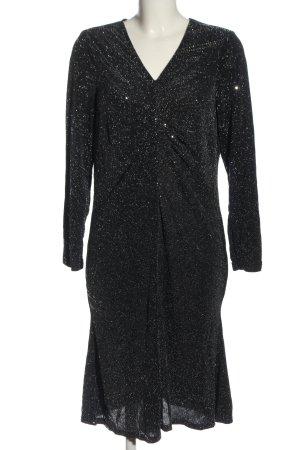Couture Line Longsleeve Dress black-natural white flecked elegant