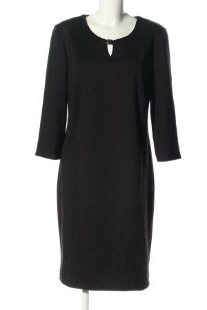 Couture Line Langarmkleid schwarz Business-Look