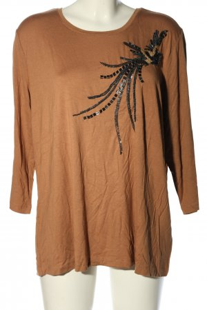 Couture Line Longsleeve bronze-colored casual look