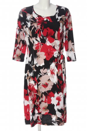 Couture Line Midi Dress allover print business style