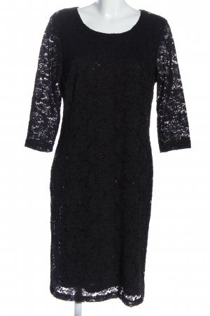 Couture Line Midi Dress black business style