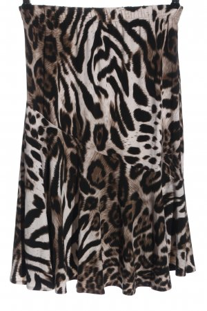 Couture Line Midi Skirt abstract pattern casual look