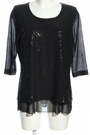 Couture Line Schlupf-Bluse schwarz Casual-Look