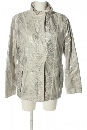 Couture Line Übergangsjacke silberfarben-goldfarben Allover-Druck Casual-Look