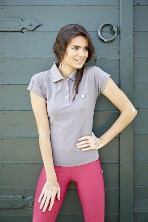 Covalliero Polo Shirt Sinara, grau, Gr. M