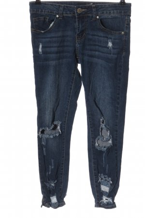 cover gril Tube Jeans blue casual look