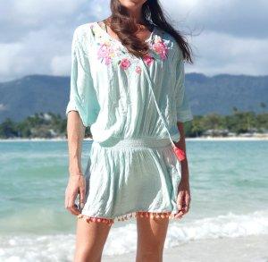 Cover up Strand Tunika  Kaftan Kleid Ibiza Boho Bohemian