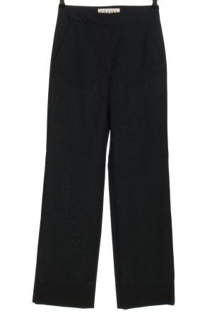 COVERT Spodnie garniturowe czarny W stylu biznesowym
