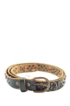 cowboy belt Leather Belt black-brown casual look