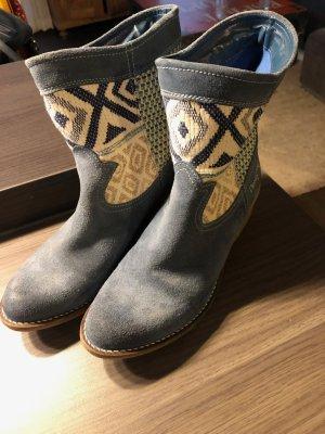 Cowboy Booties - Patchwork