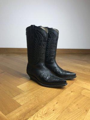 Primeboots Western Laarzen zwart